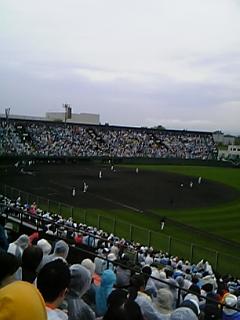 [モブログ]in<br />  旭川スタルヒン球場